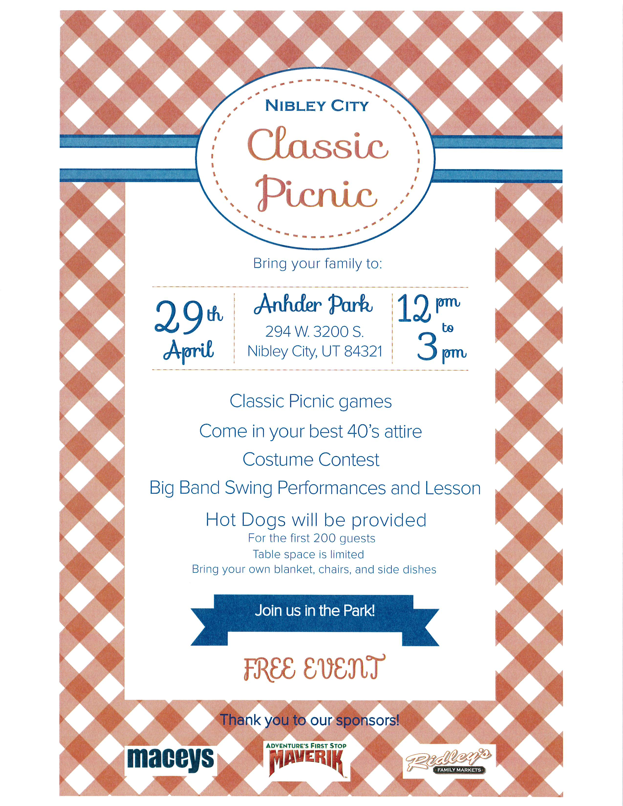 2017 Classic Picnic Flyer Image