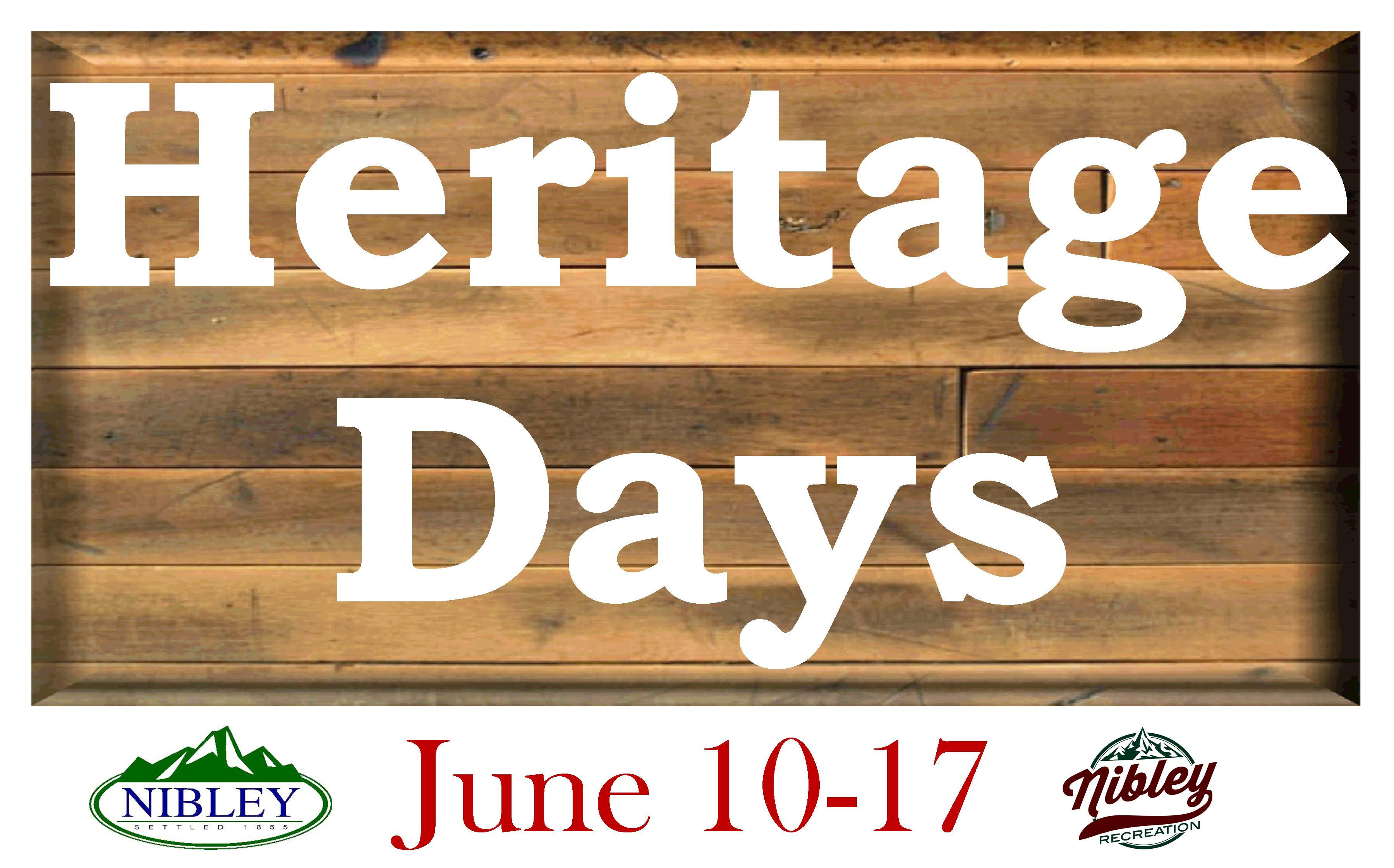 Heritage Days Sign Image
