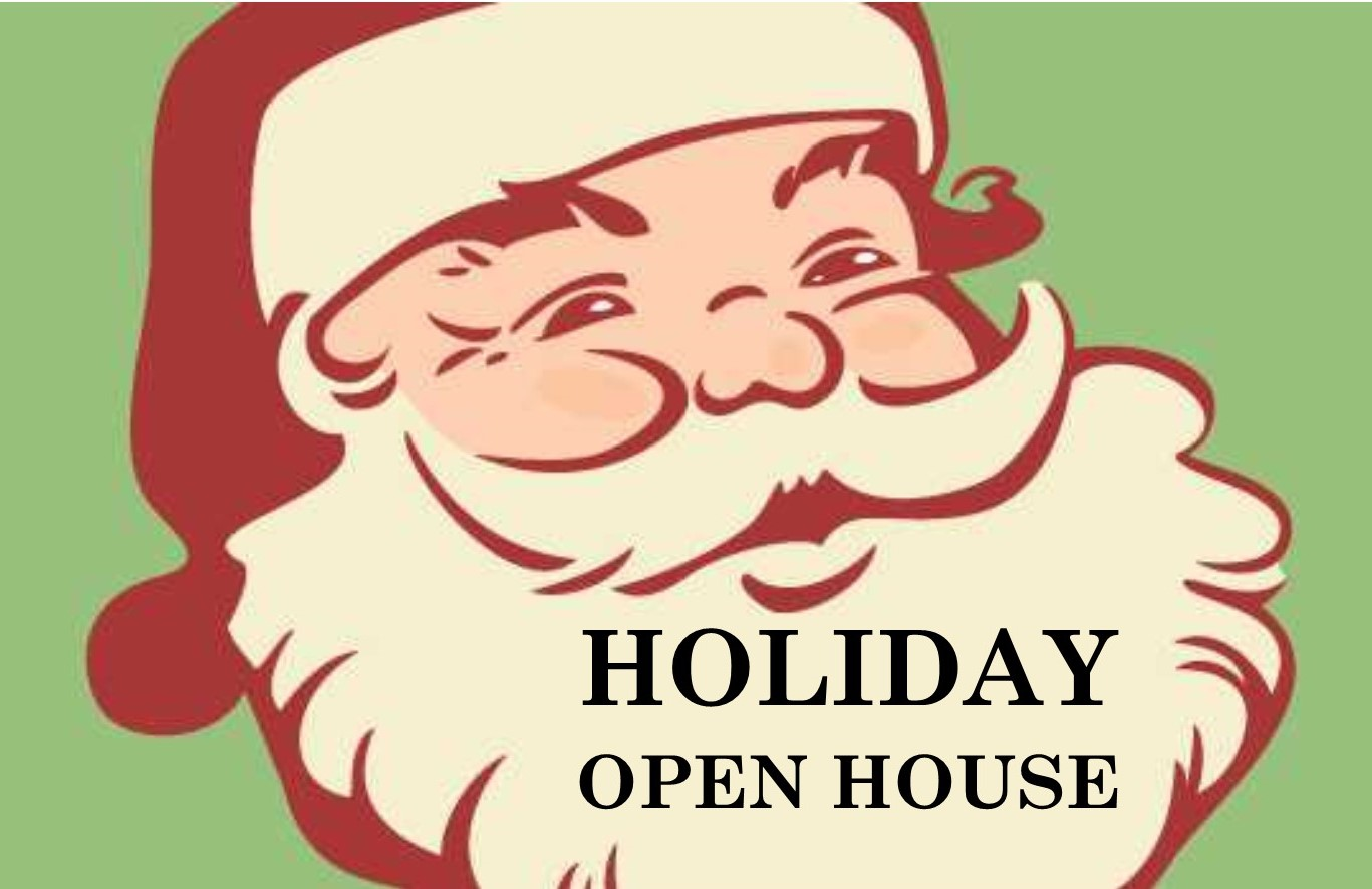Holiday Open House Vintage Color Icon
