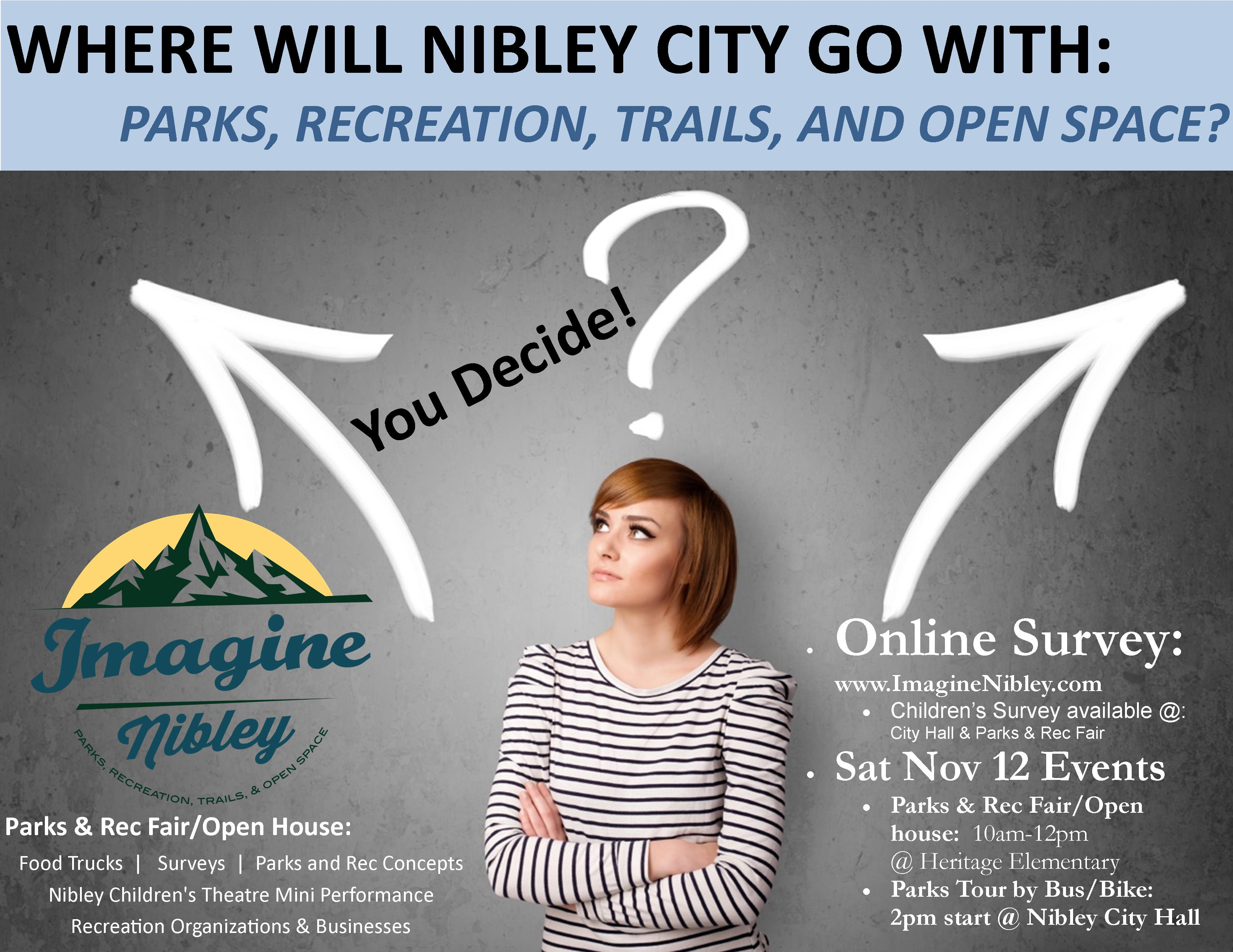 Imagine Nibley Decisions Flyer