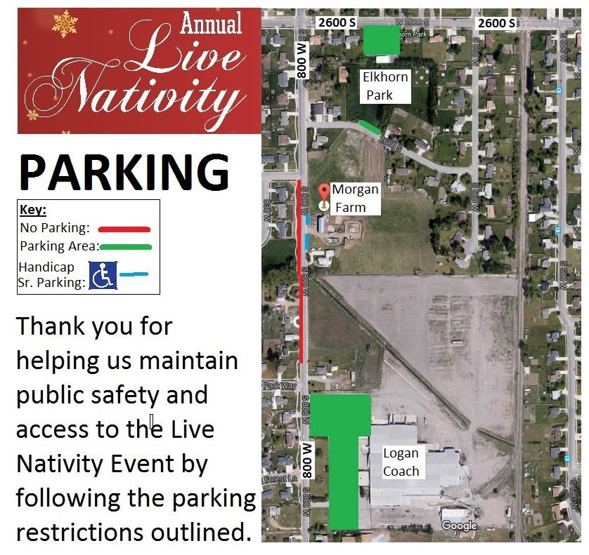 Live Nativity Parking Plan