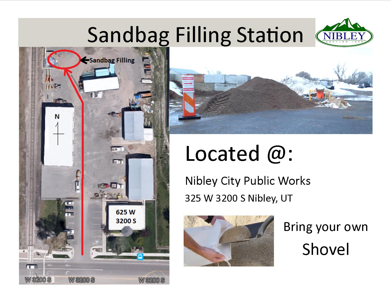 Sandbag Filling Station for Web
