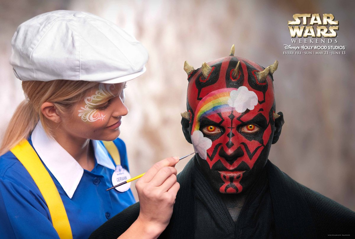 Star Wars Face Painting